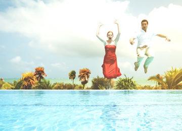Come trattare l'acqua della piscina dopo una festa estiva